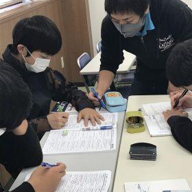 豊橋本校 定期テスト前 自習教室開放