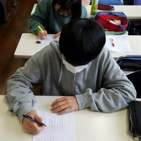 二川校 自習教室